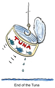 Emty can of tuna