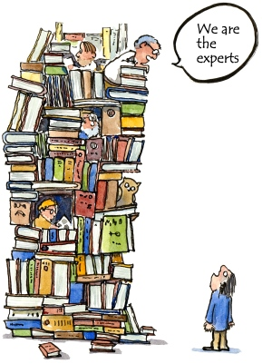 Experts book tower