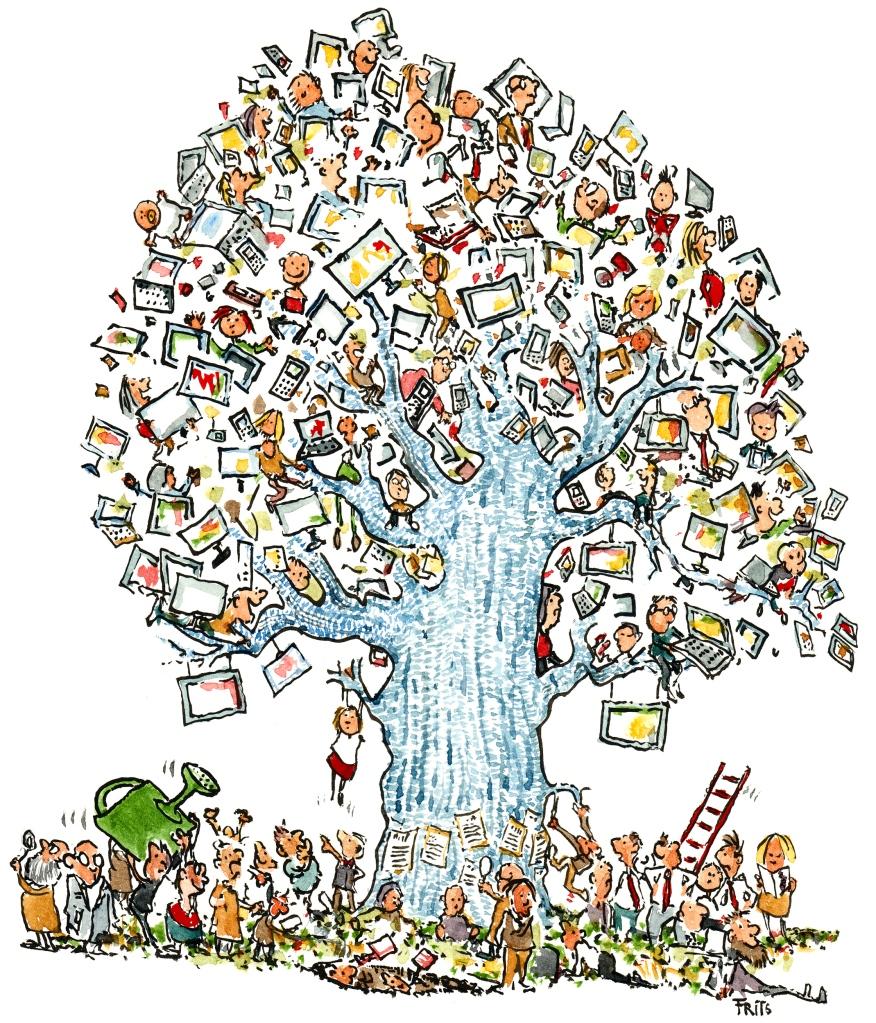 evolution of the virtual tree