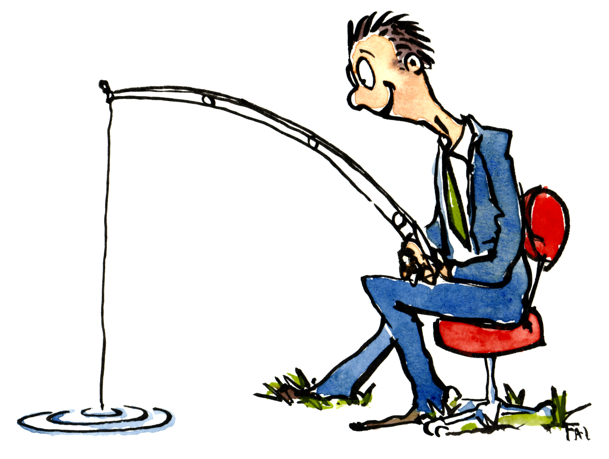 idea fishing the hiking artist project by frits ahlefeldt fishing rod clipart with blue background fishing rod clipart black and white
