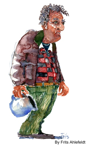 Watercolor, People from Denmark