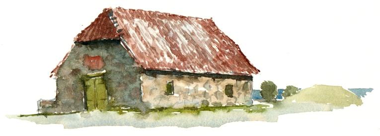 Old gun powder house in Svaneke