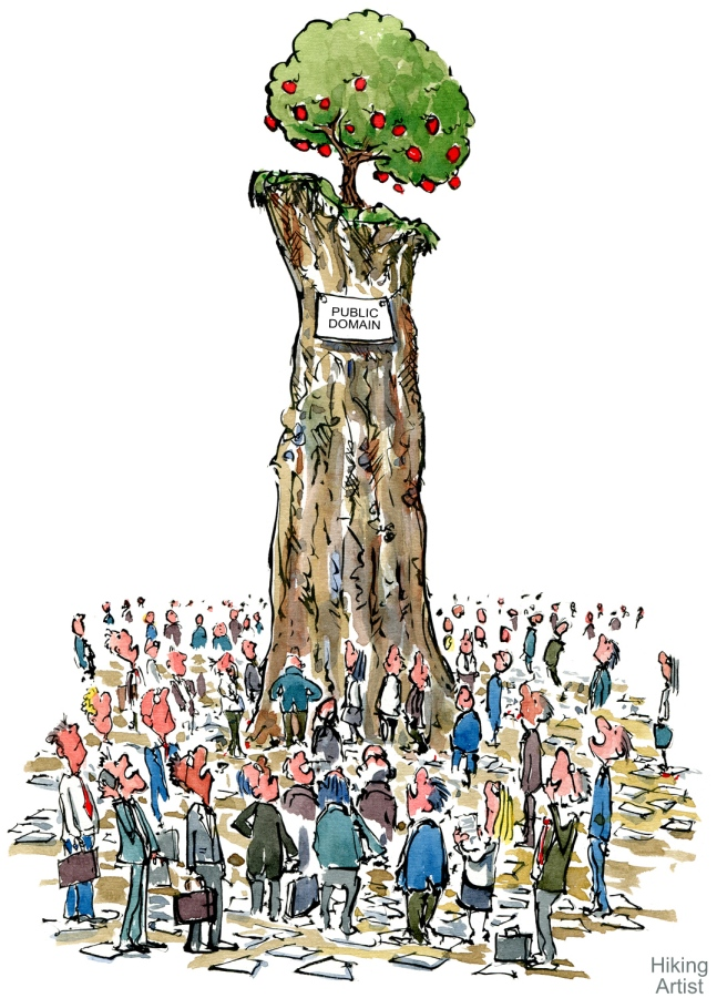 illustration of the Tragedy of the Commons