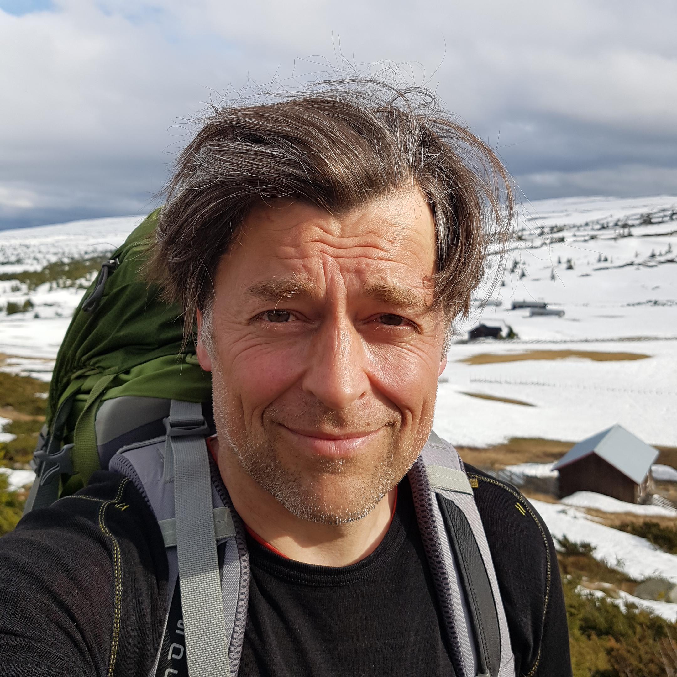 Portrait Frits Ahlefeldt, Norway