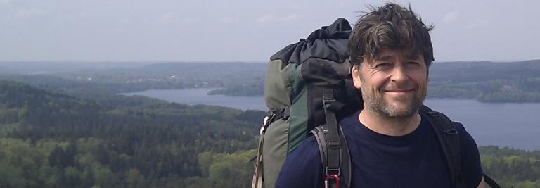Portrait of Frits Ahlefeldt, HikingArtist