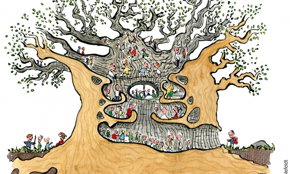 Treehouse for a green community