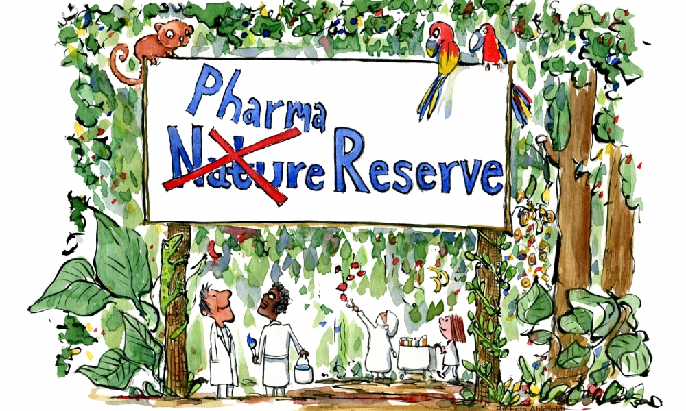 Pharma researching in the rainforests