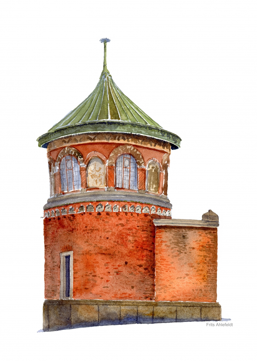 Carlsberg, Copenhagen red brick building