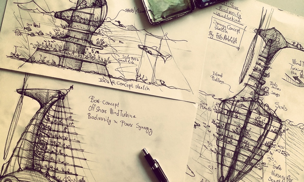 pencil sketches of ideas