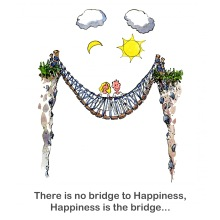 Happiness bridge texted version