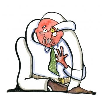 stressed-man-knot-illustration-by-frits-ahlefeldt