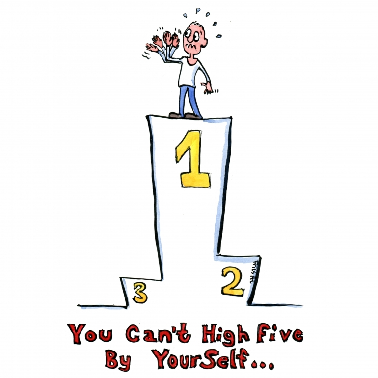 you-cant-highfive-by-youself-competion-first-place-illustration-by-frits-ahlefeldt-square
