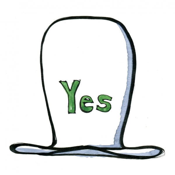 thinking hat the Yes hat