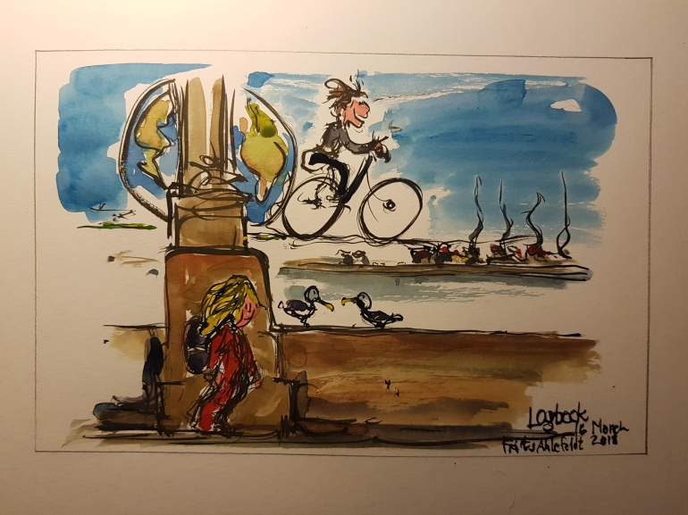 logbook note from Copenhagen by Frits Ahlefeldt