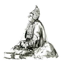 012-ink-sketch-man-sitting-begging-by-belongings-by-frits-ahlefeldt-hat-square-fss1