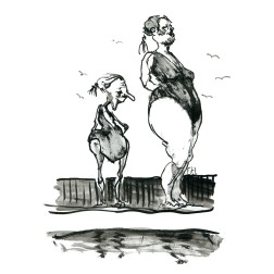 025-ink-sketch-two-women-at-sea-bathing-by-frits-ahlefeldt-fss1-hat-square