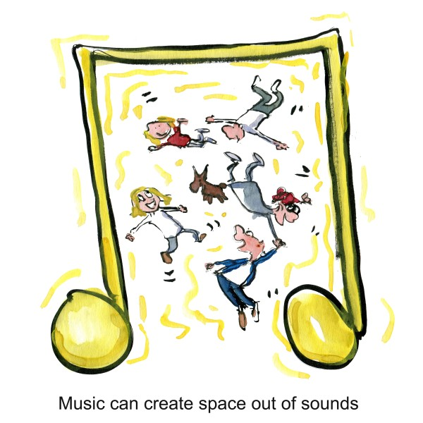 Music as space
